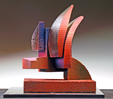 Rooster Abstract Sculpture