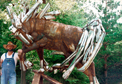 Anticiaption Steel Horse Sculpture