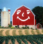 Smiley Face Barn